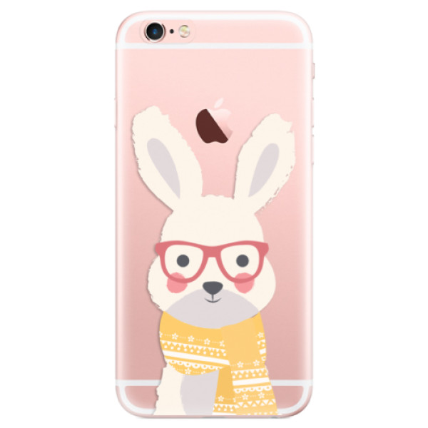 Odolné silikonové pouzdro iSaprio - Smart Rabbit - iPhone 6 Plus/6S Plus