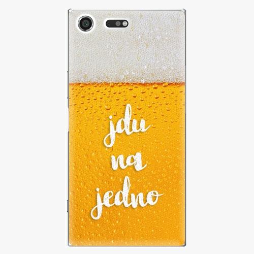 Plastový kryt iSaprio - Jdu na jedno - Sony Xperia XZ Premium