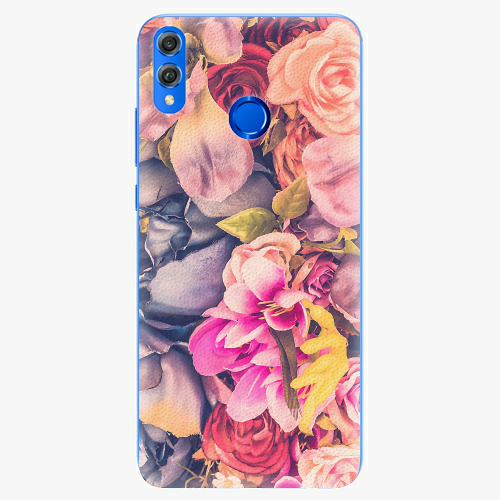 Silikonové pouzdro iSaprio - Beauty Flowers - Huawei Honor 8X