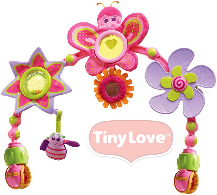 TINY LOVE Hrazdička na kočárek nebo autosedačku TINY PRINCESS pro miminko