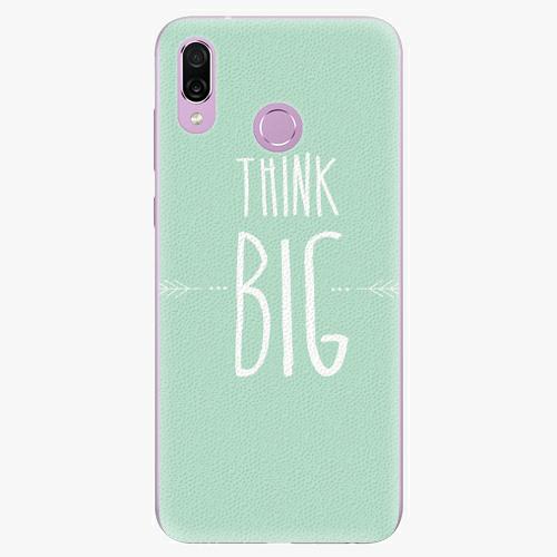 Silikonové pouzdro iSaprio - Think Big - Huawei Honor Play