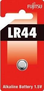 Fujitsu alkalická baterie LR44, blistr 1ks