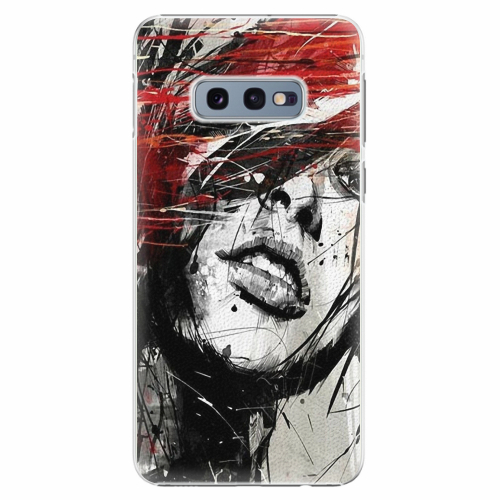 Plastový kryt iSaprio - Sketch Face - Samsung Galaxy S10e