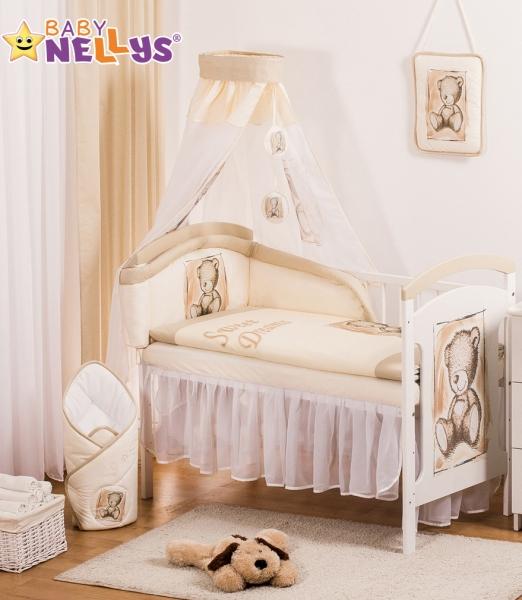 Baby Nellys Šifónová nebesa Sweet Dreams by TEDDY - piskové/bílé