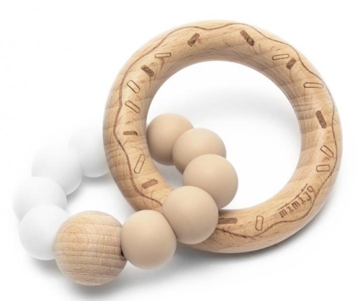 mimijo-silikonove-kousatko-donut-bilo-bezovy