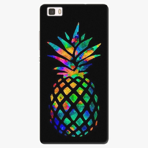 Plastový kryt iSaprio - Rainbow Pineapple - Huawei Ascend P8 Lite