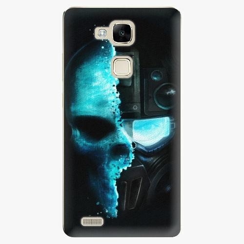 Plastový kryt iSaprio - Roboskull - Huawei Mate7