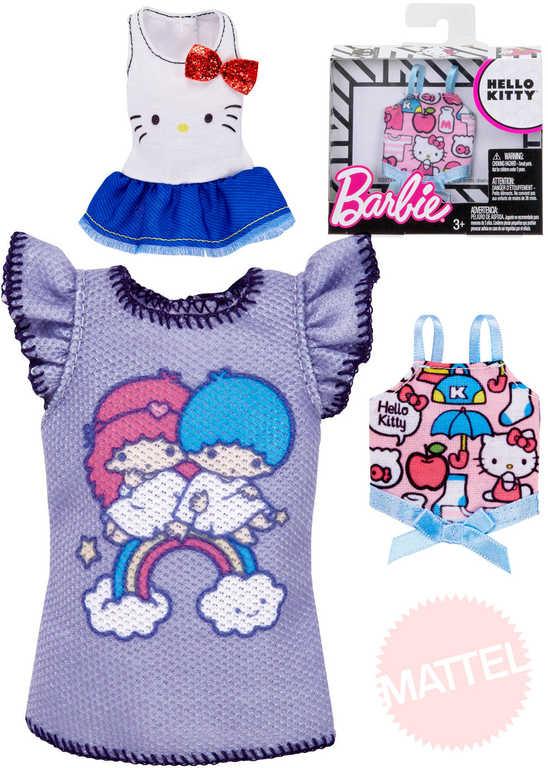 MATTEL BRB Tématický obleček šatičky pro panenku Barbie různé druhy