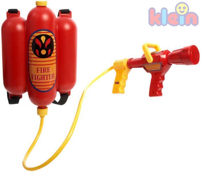 KLEIN Přístroj hasicí dětský na vodu na záda PLAST