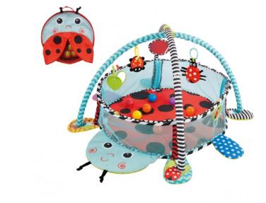 Vzdělávací hrací deka s 30 míčky Konig Kids - Beruška