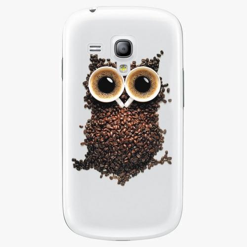 Plastový kryt iSaprio - Owl And Coffee - Samsung Galaxy S3 Mini