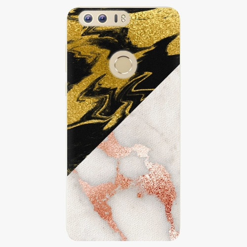 Plastový kryt iSaprio - Shining Marble - Huawei Honor 8