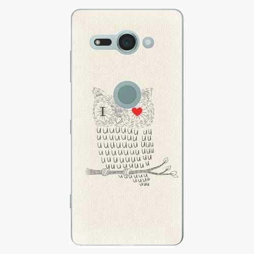 Plastový kryt iSaprio - I Love You 01 - Sony Xperia XZ2 Compact