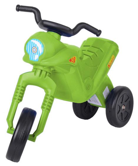 MAD Odrážedlo ENDURO Klasik dětské odstrkovadlo zelená motorka do 25kg