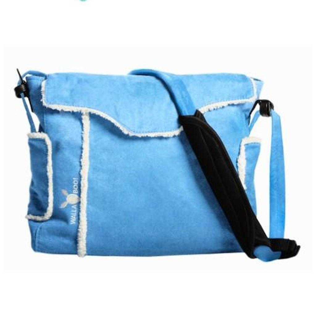 Přebalovací taška na kočárek Wallaboo - modrá