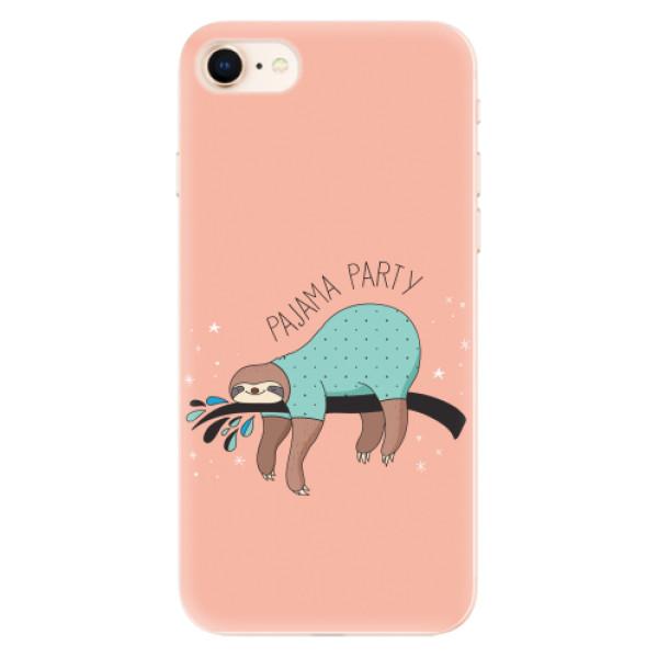 Odolné silikonové pouzdro iSaprio - Pajama Party - iPhone 8