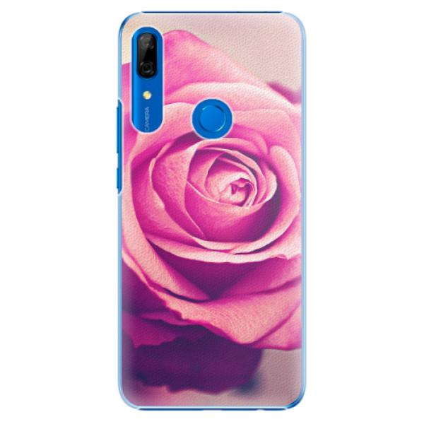 Plastové pouzdro iSaprio - Pink Rose - Huawei P Smart Z