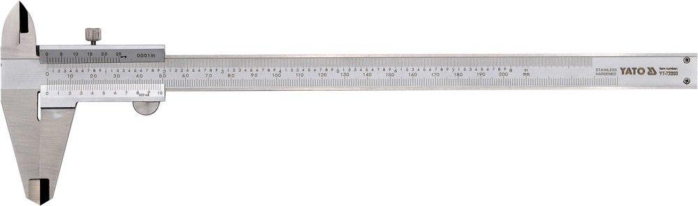 Posuvné měřítko, 200 mm