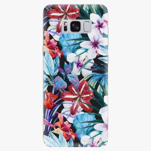 Plastový kryt iSaprio - Tropical Flowers 05 - Samsung Galaxy S8 Plus