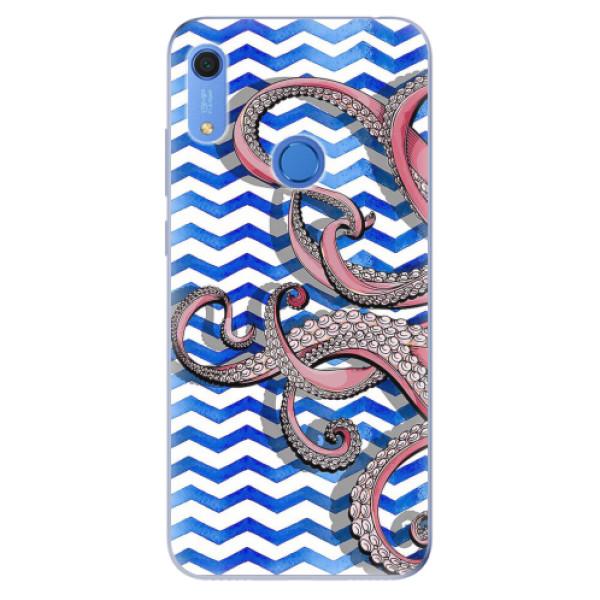 Odolné silikonové pouzdro iSaprio - Octopus - Huawei Y6s