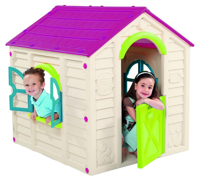 detsky-hraci-domek-rancho-playhouse-bezovy