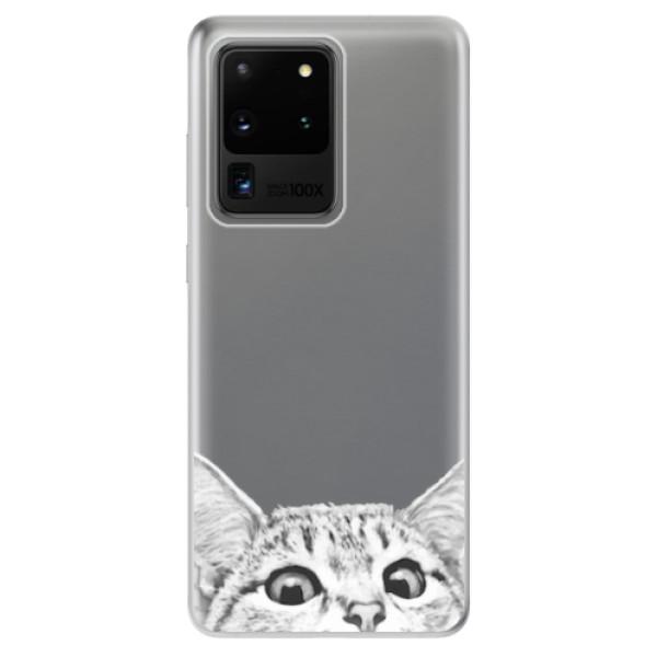 Odolné silikonové pouzdro iSaprio - Cat 02 - Samsung Galaxy S20 Ultra