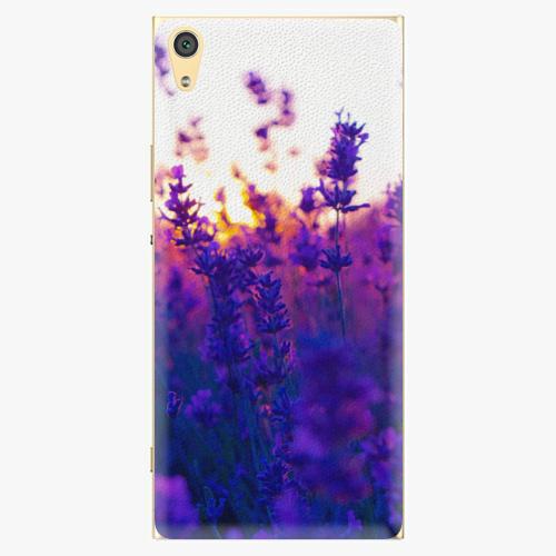 Plastový kryt iSaprio - Lavender Field - Sony Xperia XA1 Ultra
