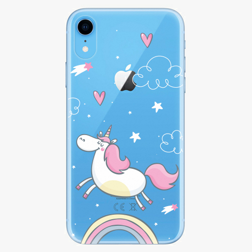 Silikonové pouzdro iSaprio - Unicorn 01 - iPhone XR