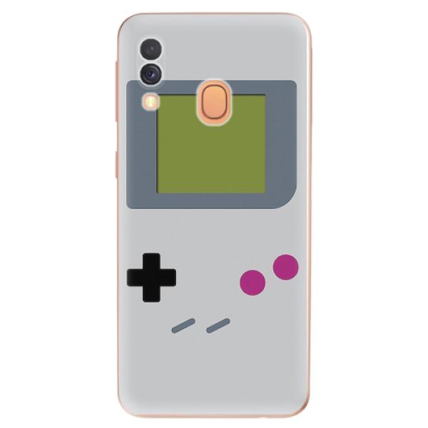Odolné silikonové pouzdro iSaprio - The Game - Samsung Galaxy A40