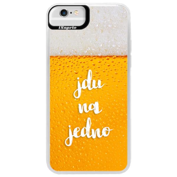 Neonové pouzdro Blue iSaprio - Jdu na jedno - iPhone 6 Plus/6S Plus