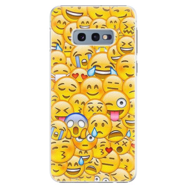 Plastové pouzdro iSaprio - Emoji - Samsung Galaxy S10e