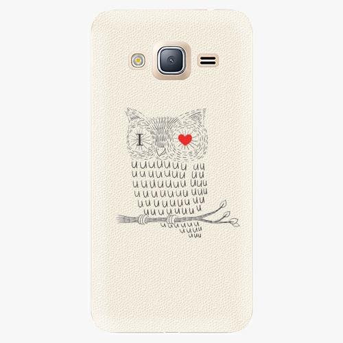 Plastový kryt iSaprio - I Love You 01 - Samsung Galaxy J3