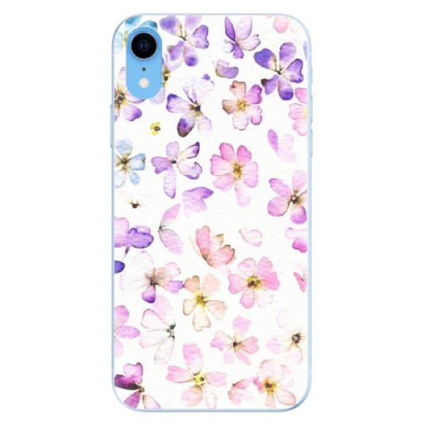 Odolné silikonové pouzdro iSaprio - Wildflowers - iPhone XR