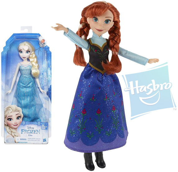 HASBRO Panenka Anna / Elsa Frozen (Ledové Království) 2 druhy