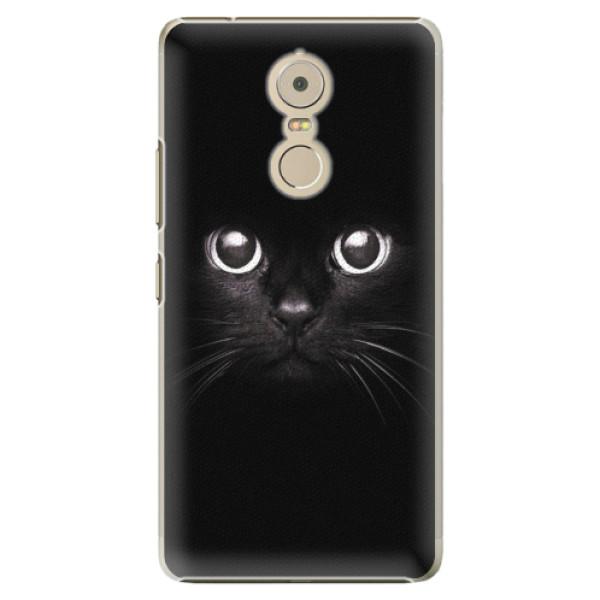 Plastové pouzdro iSaprio - Black Cat - Lenovo K6 Note