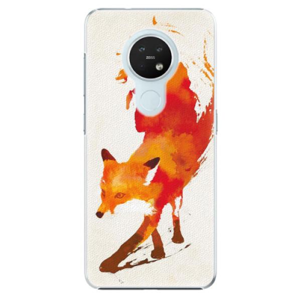 Plastové pouzdro iSaprio - Fast Fox - Nokia 7.2