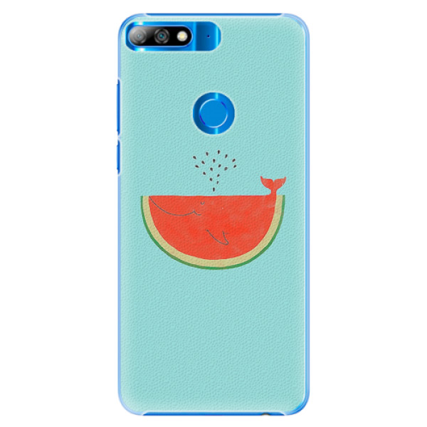 Plastové pouzdro iSaprio - Melon - Huawei Y7 Prime 2018