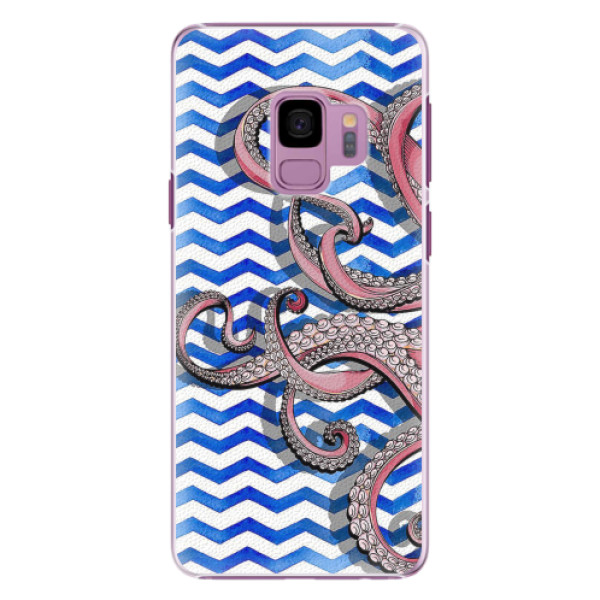 Plastové pouzdro iSaprio - Octopus - Samsung Galaxy S9