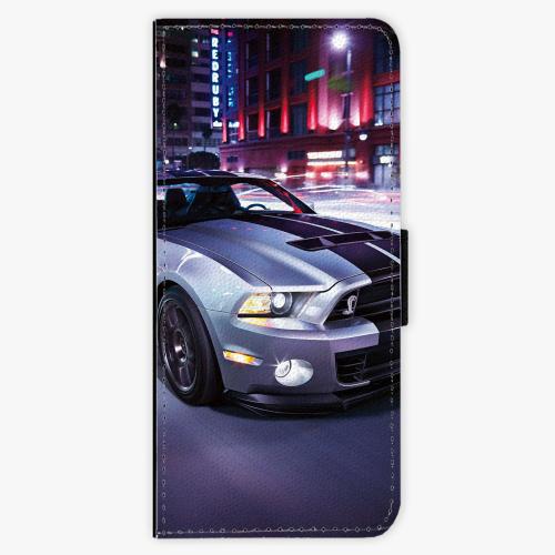Flipové pouzdro iSaprio - Mustang - Samsung Galaxy J3 2016