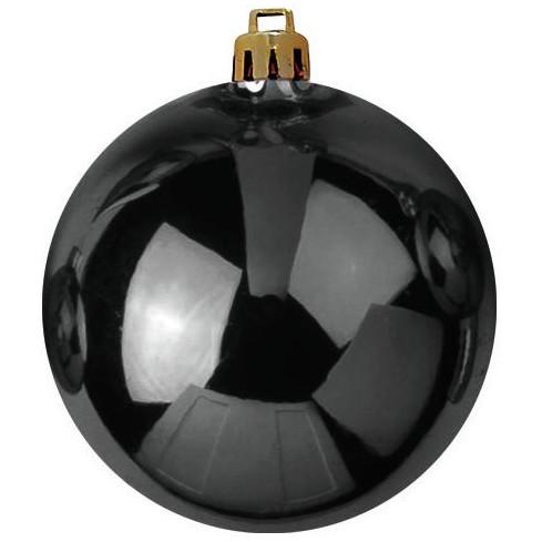 Vánoční dekorační ozdoba, 20 cm, černá, 1 ks