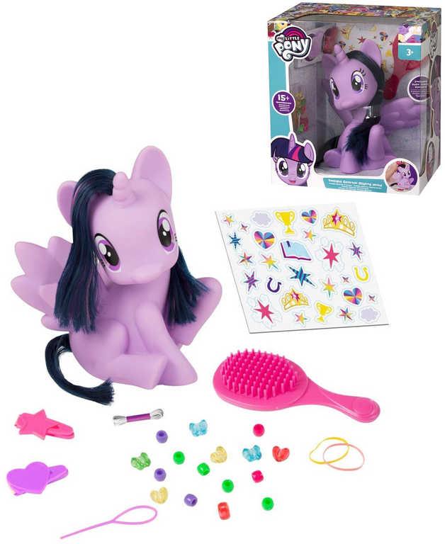 HASBRO MLP Stylingový jednorožec My Little Pony Twilight set koník s doplňky