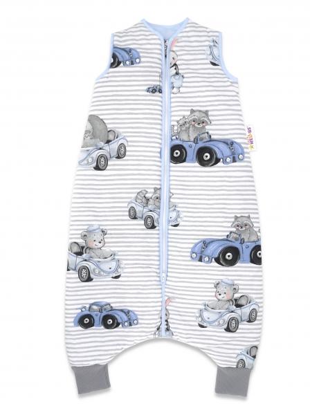 baby-nellys-spaci-vak-s-nohavickami-baby-car-90-cm-modra