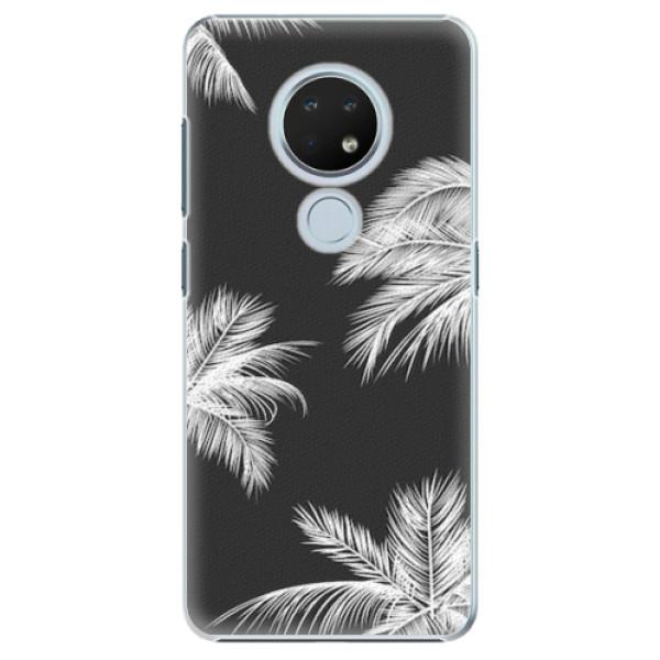 Plastové pouzdro iSaprio - White Palm - Nokia 6.2