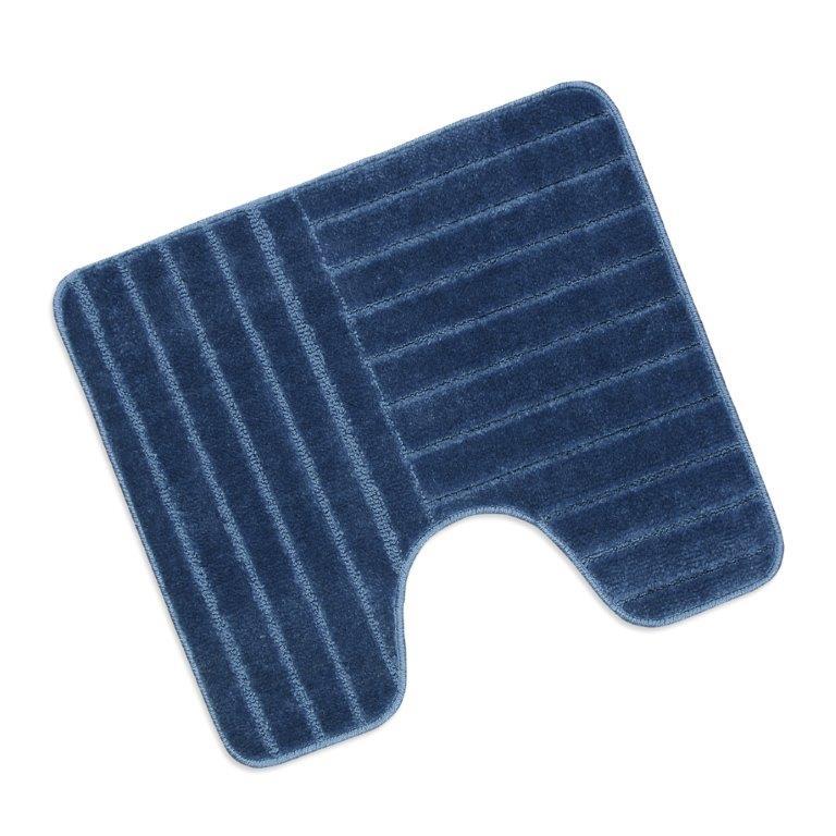 Předložka před WC 60x50cm Pruhy modré