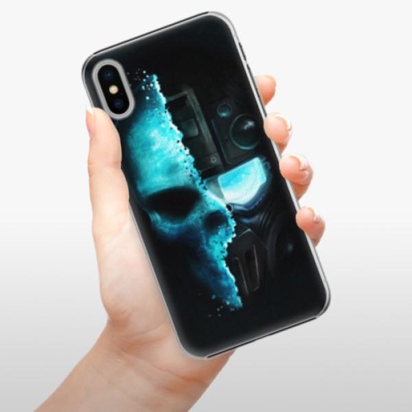 Plastové pouzdro iSaprio - Roboskull - iPhone X