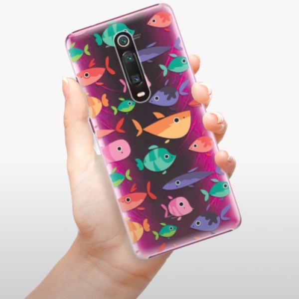 Plastové pouzdro iSaprio - Fish pattern 01 - Xiaomi Mi 9T