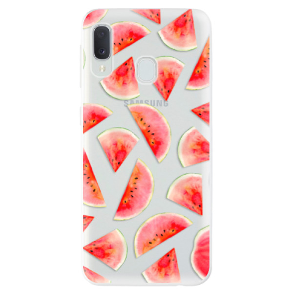 Odolné silikonové pouzdro iSaprio - Melon Pattern 02 - Samsung Galaxy A20e