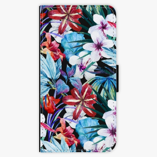 Flipové pouzdro iSaprio - Tropical Flowers 05 - iPhone 6/6S