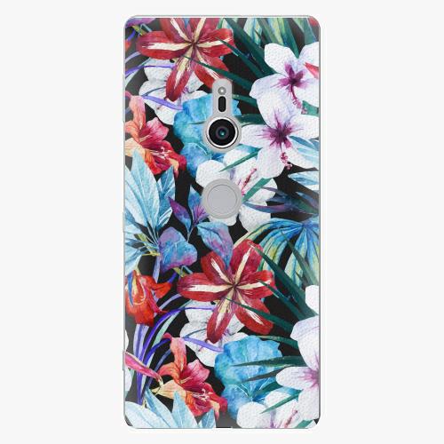 Plastový kryt iSaprio - Tropical Flowers 05 - Sony Xperia XZ2