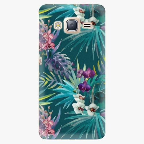 Plastový kryt iSaprio - Tropical Blue 01 - Samsung Galaxy J3